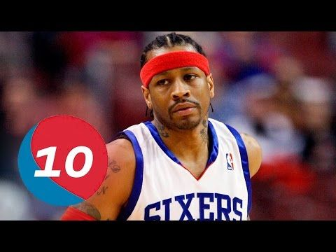 Allen Iverson Top 10 Plays of Career - YouTube