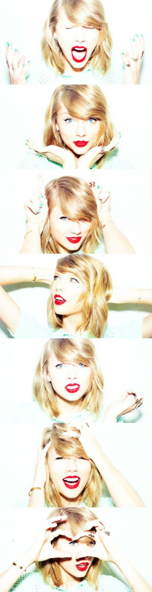 """We see our appearance everyday and we forget those negative thoughts aren't real. We have to try and forget that we aren't terrible people and we need to learn how to love ourselves."" - Taylor Swift <3"
