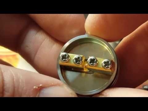 Обзор дрипки на Русском  GOON RDA 528 24 mm. vape. Мечта много пара вкус...