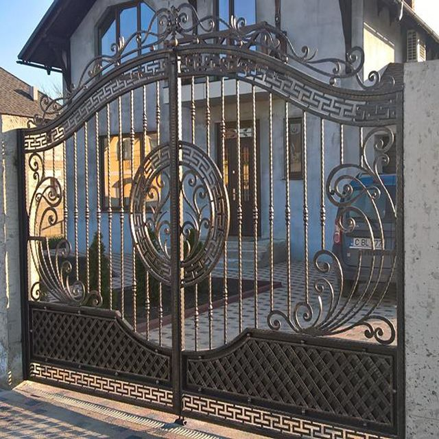 Cheap Modern House Wrought Iron Main Gates Designs Simple Gate Design Buy Modern House Wrought I Iron Gate Design Wrought Iron Gate Designs Steel Gate Design