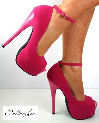 1000  images about ZAPATOS FUCSIA on Pinterest | Prom shoes Oscar