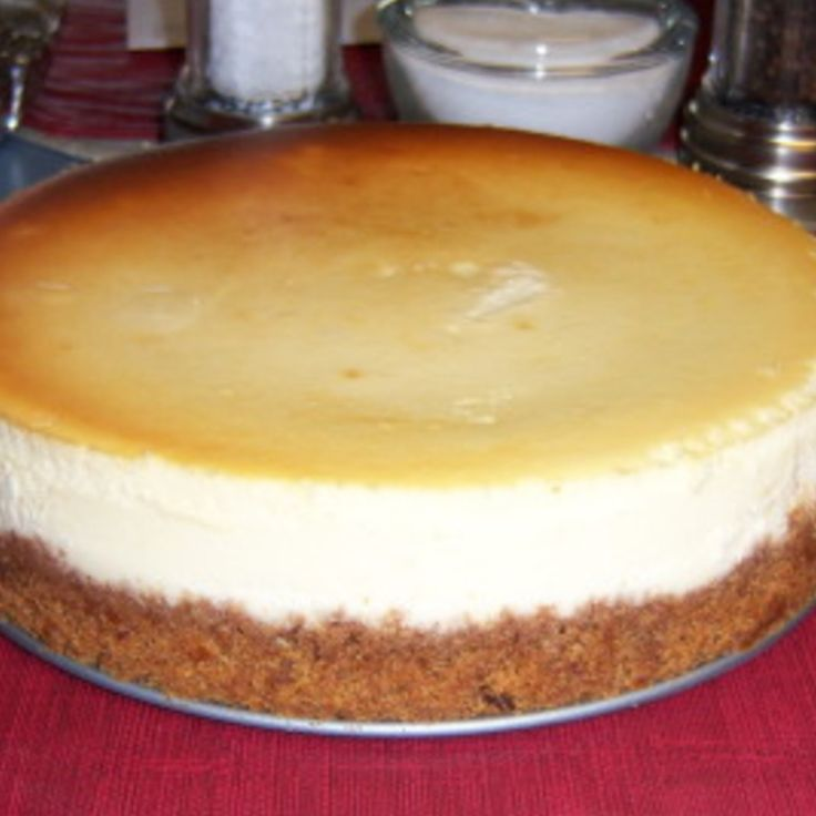 Crack Proof: New York Style Cheesecake Recipe | Just A Pinch Recipes