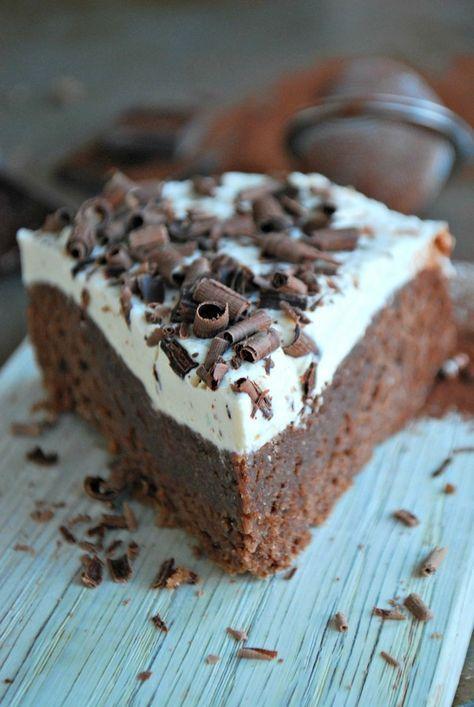 Hälsosam moccakaka, utan tillsatt socker och gluten