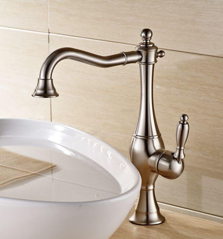 127 best Bathroom Sink Faucets images on Pinterest | Bathroom sink ...