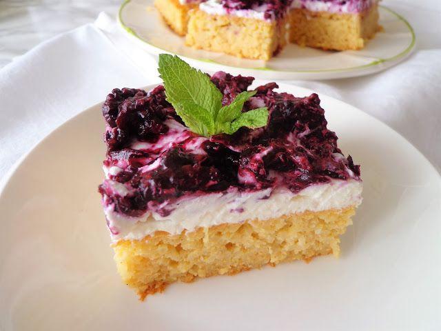 Waniliowo-jaglane ciasto z owocami leśnymi, bez glutenu (Torta di miglio e frutti di bosco, senza glutine)