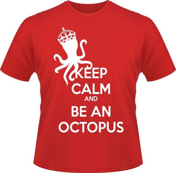 Keep Calm - Don de Rouge, T-shirts pour la cause du 24h de Tremblant - 25$