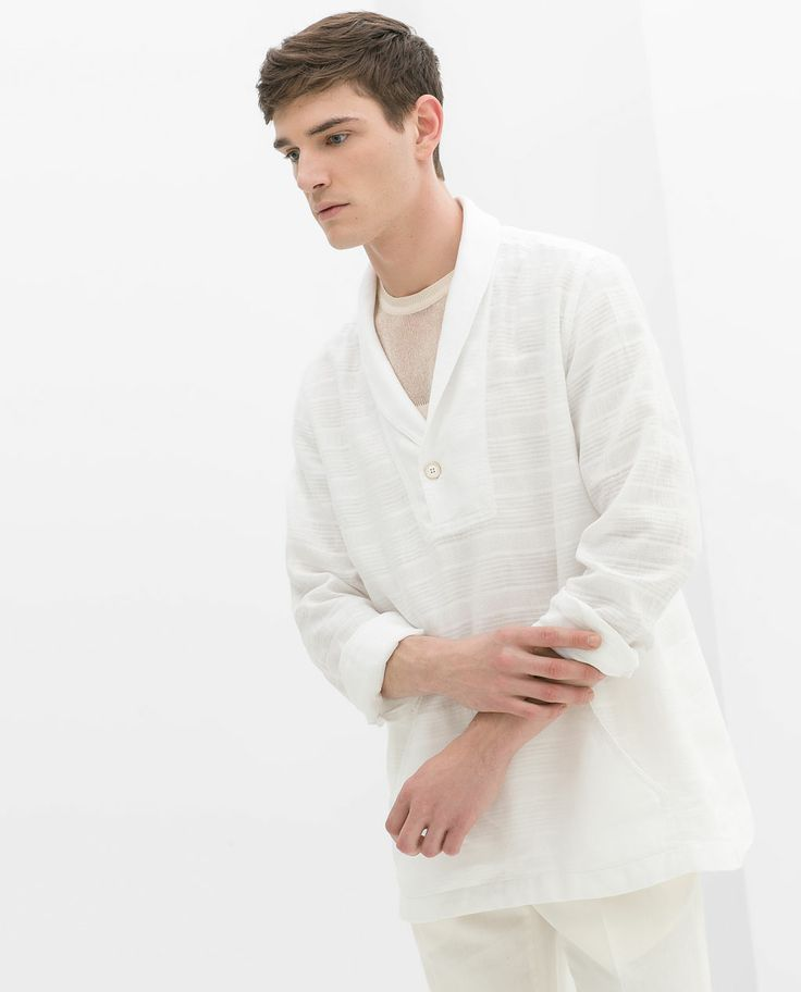 zara man shirt with collar zara spring pinterest