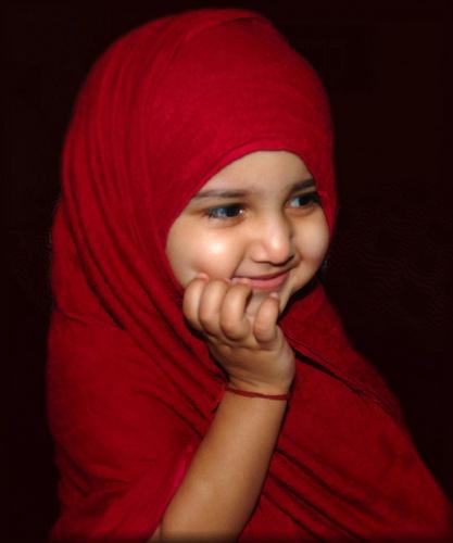 Young Beautiful Hijabi In The Worlds Hijabers Cilik Cantik
