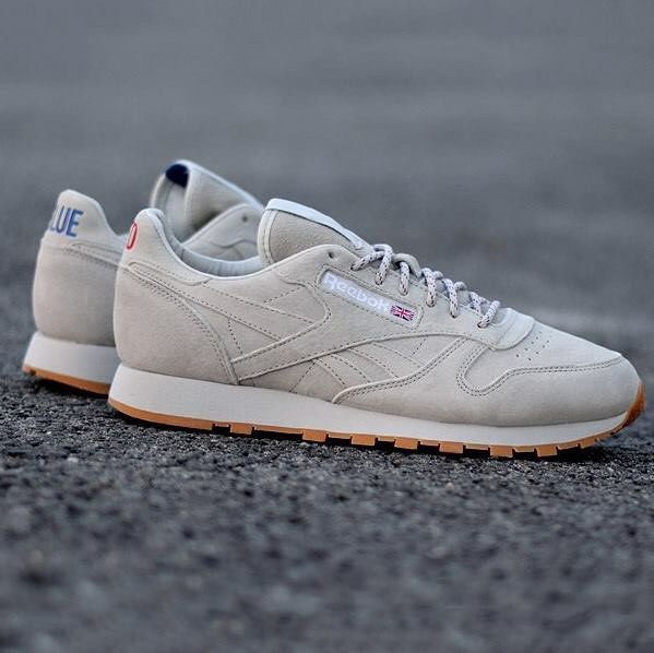 newest 1fec8 31ef0 ... vintage dg pink orange black 22bf5 78cbb  usa kendricklamar and  reebokclassics team up once again to release a light gray suede iteration  reebok