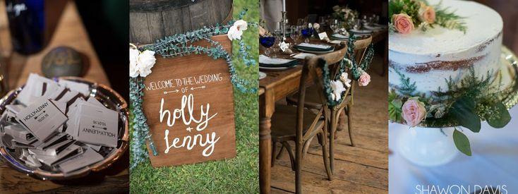 Rustic and elegant Stonover Farm wedding photo