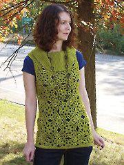 New Crochet Downloads - Sunflower Jumper