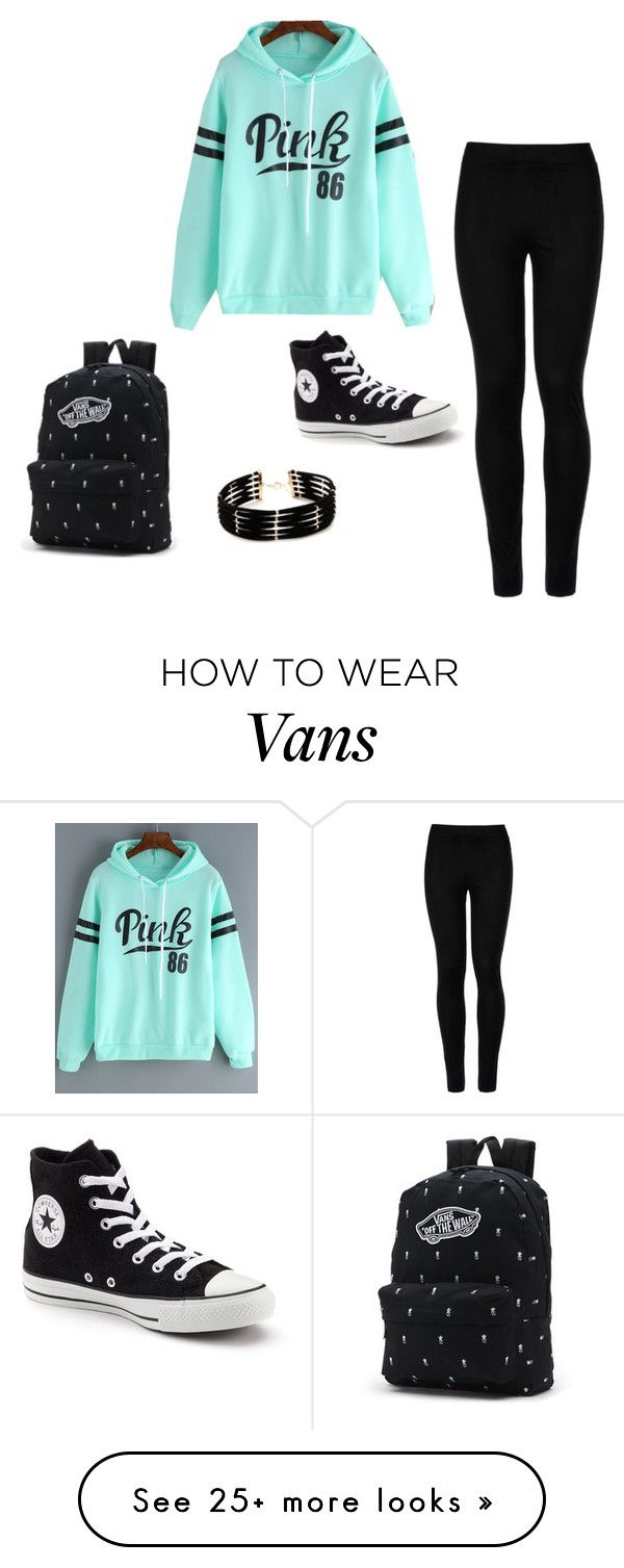 """""""Untitled #1"""" by alyssa-85 on Polyvore featuring Wolford, Converse, Vans and Forever 21"""