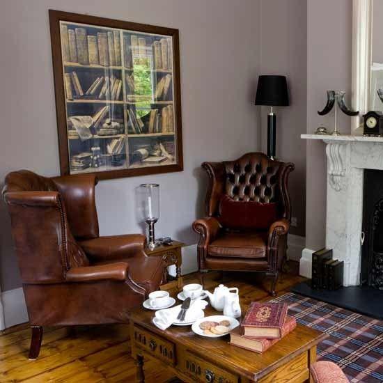 Gentleman's corner | Formal living rooms - 10 of the best | Living room ideas | PHOTO GALLERY | Housetohome.co.uk