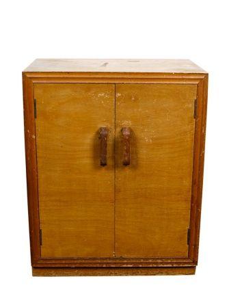 Fred Ward (1899-1990) : Double Door Storage Cabinet