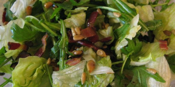 Ledový salát se semínky - Jídelníček pro zdraví