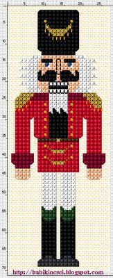"creepy nutcracker chart.  Does anyone else find nucrackers creepy in a ""Chucky"" sort of way?"