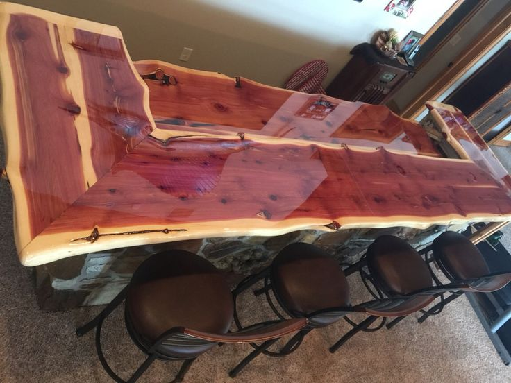 Cedar Counter Top Bar Top More Than Wood In 2019