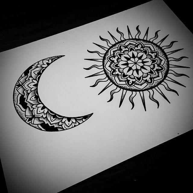 #sunandmoontattoo design for tomorrow :) #mandala #mandalatattoo #onlyblackart #noirtattoos #blxckink #blackwork #blackndark #btattooing #blacktattoos #blacktattooart #BLACKTATTOOMAG