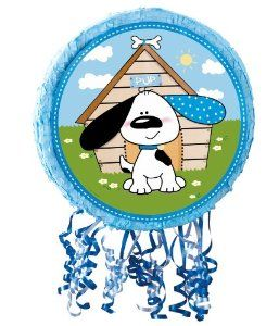 Party Destination Playful Puppy Blue Pull-String Pinata by Party Destination. $18.00. Playful Puppy Blue Pull-String Pinata Blue- PS740-BEX