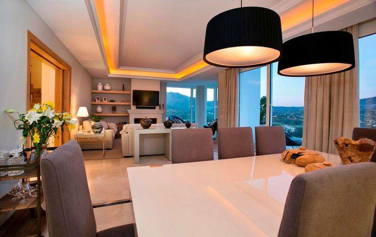 Living & Dining @casabond La Cala interior by Cote Sud Christian Willem Debray, Calahonda, Malaga, Spain