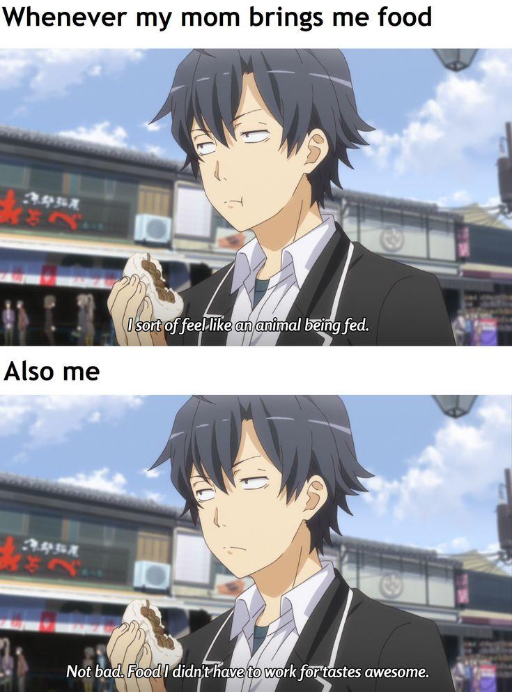 Daily Oregairu meme meme memes funny lol Anime