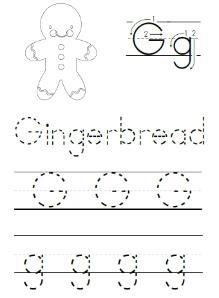 gingerbread printables for preschoolers!