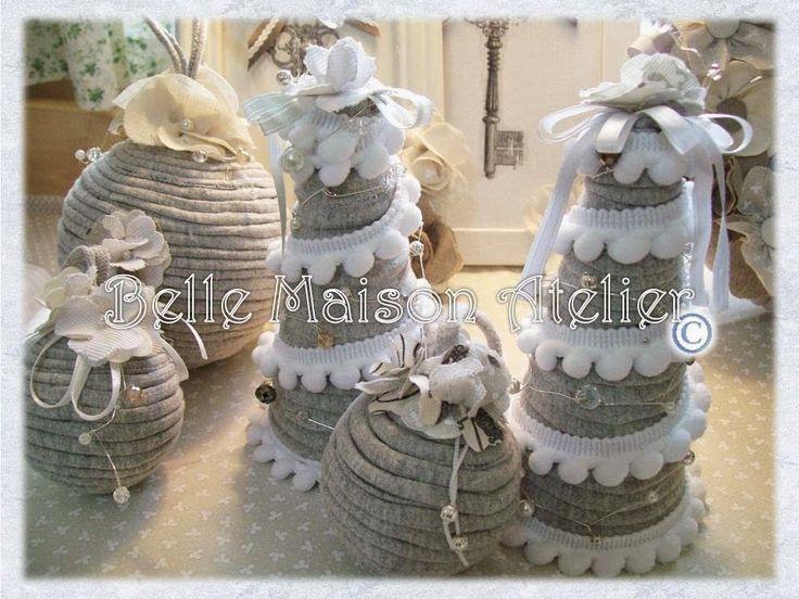 Famoso Oltre 25 fantastiche idee su Natale shabby chic su Pinterest  LO57