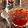Raspberry Mojito Punch is perfect for holiday parties! More festive holiday drinks: