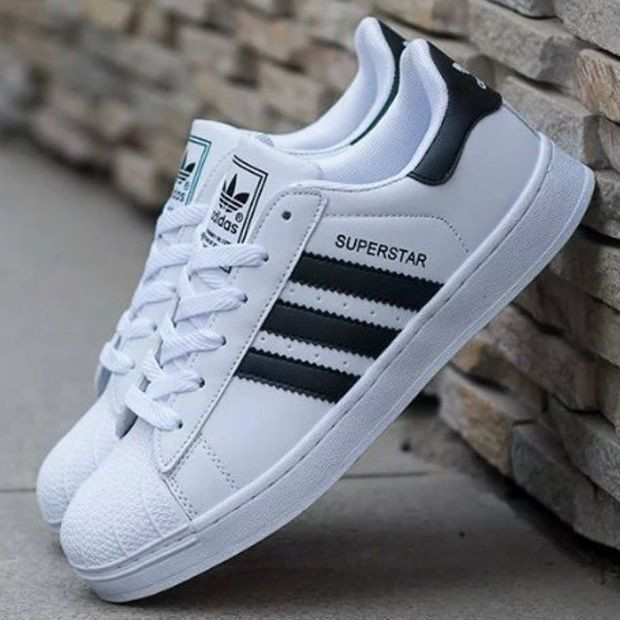 adidas superstar white sport shoes for men