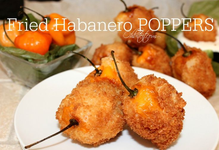 ~Fried Habanero Poppers!