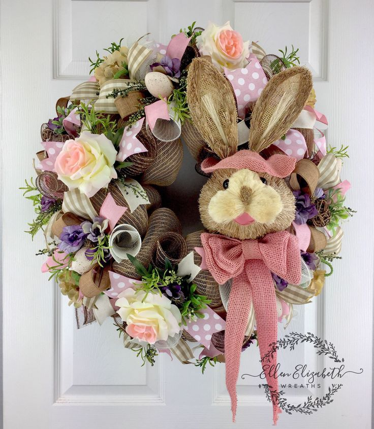 4481 Best Wreaths Images On Pinterest Spring Wreaths