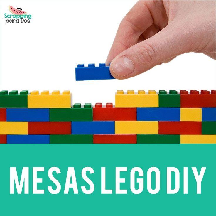Mesas LEGO DIY, os dejo un montón de ideas para construir en casa una mesa diy de LEGO, para poder jugar y guardar con los bloques de LEGO y guardarlos