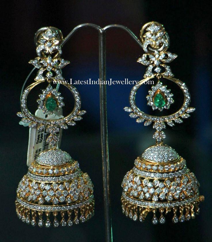 Designer Indian Earrings: 17 Best Images About Jhumka Earrings On Pinterest