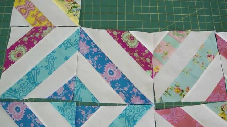"""""""Summer in the Park"""" Quilt Using Jelly Rolls. Video tutorial from Missouri Star Qulit Company"""