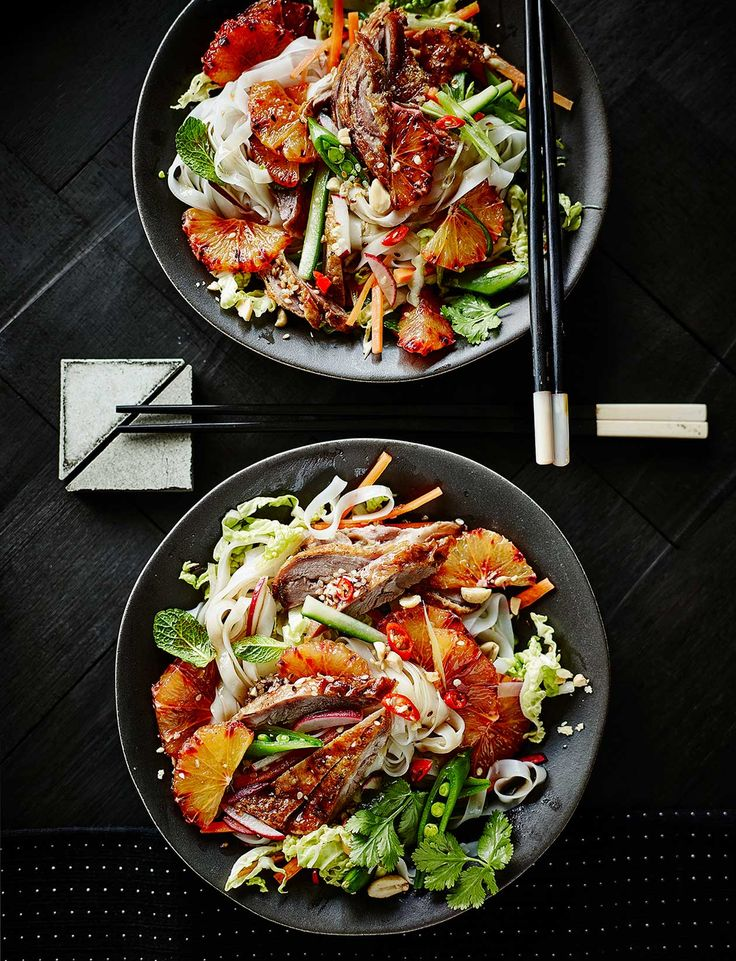 "Bust the ""salads are boring"" myth and try this vibrant Vietnamese-style crispy duck salad with blood oranges and a punchy dressing."