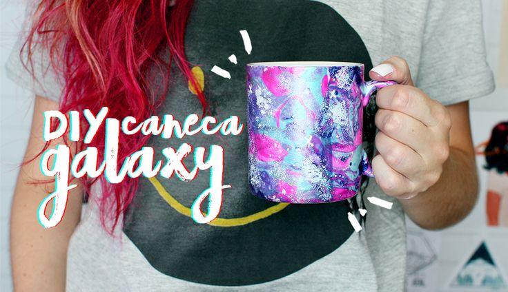 Meninices da Vida: DIY Caneca Galaxy