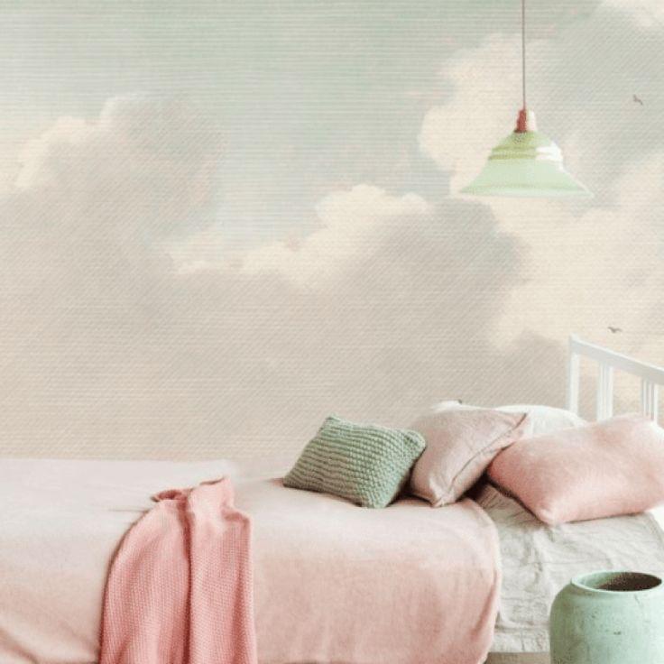 Pink Pastel bedroom accents - Scandinavian Interiors