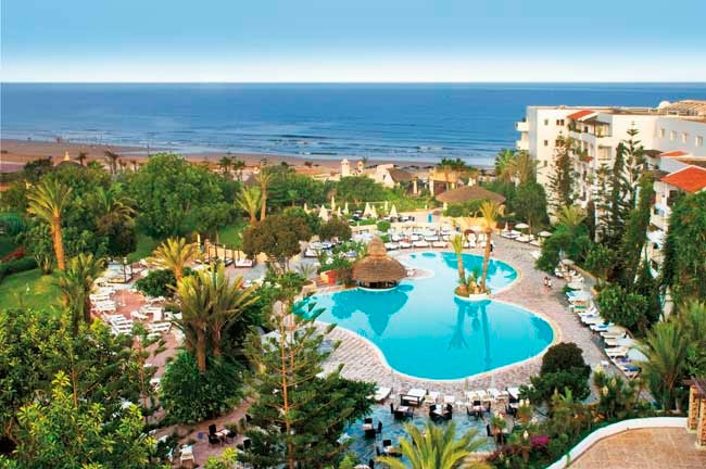The Hotel Riu Tikida Beach (All Inclusive), located right at the beach of Agadir, Morocco, is a hotel where you will find all the essentials to enjoy some unforgettable holidays. Hotel Riu Tikida Beach - Hotel in Agadir, Morocco - RIU Hotels & Resorts