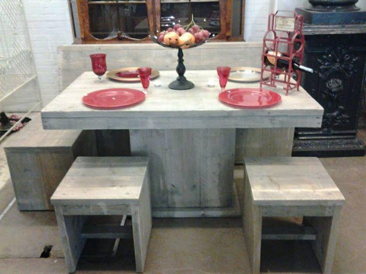 1000+ images about Steigerhouten meubels on Pinterest  Van, Met and ...