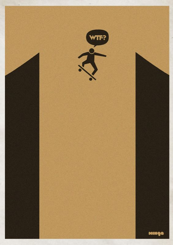 WTF Series by Minga | Abduzeedo | Graphic Design Inspiration and Photoshop Tutorials