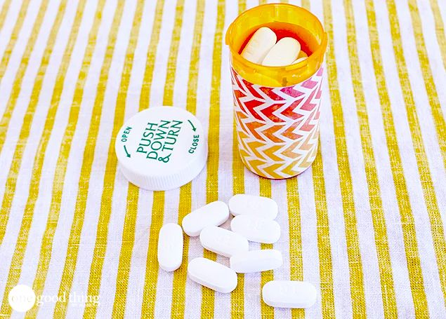 reusing pill bottles