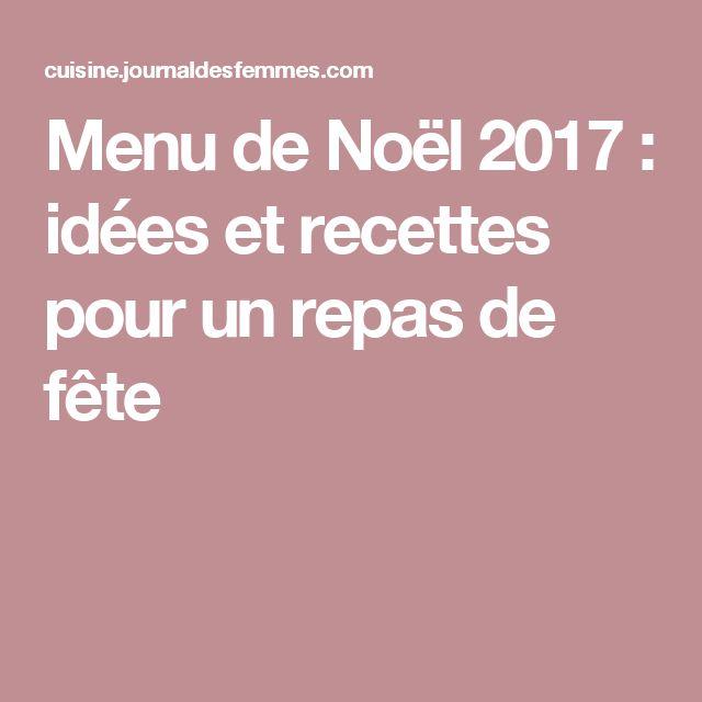 Les 25 meilleures id es de la cat gorie menu pour noel sur - Idee de repas de noel ...
