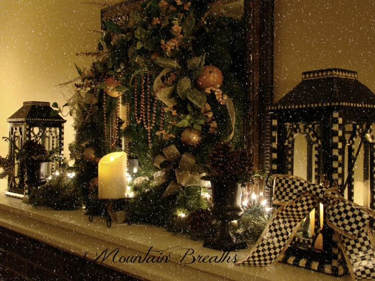 Debbie from Utica, NY sent us this pic of her lovely mantel decorated with Luminara candles. She used one in each lantern and one in the center. Debbie writes that it was an easy transition from Fall. She just removed the fall branches and added a wreath, greenery and white lights. Thanks, Debbie! Enjoy.