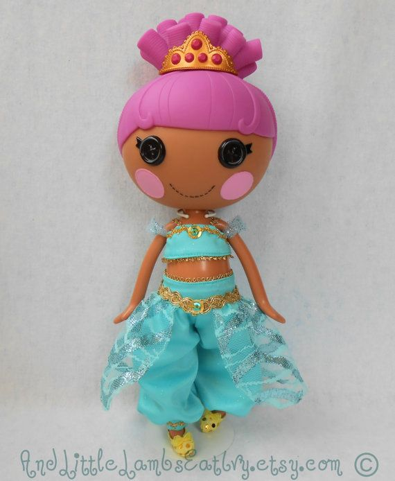 Lalaloopsy Clothes  Jasmine  Princess by AndLittleLambsEatIvy, $18.00