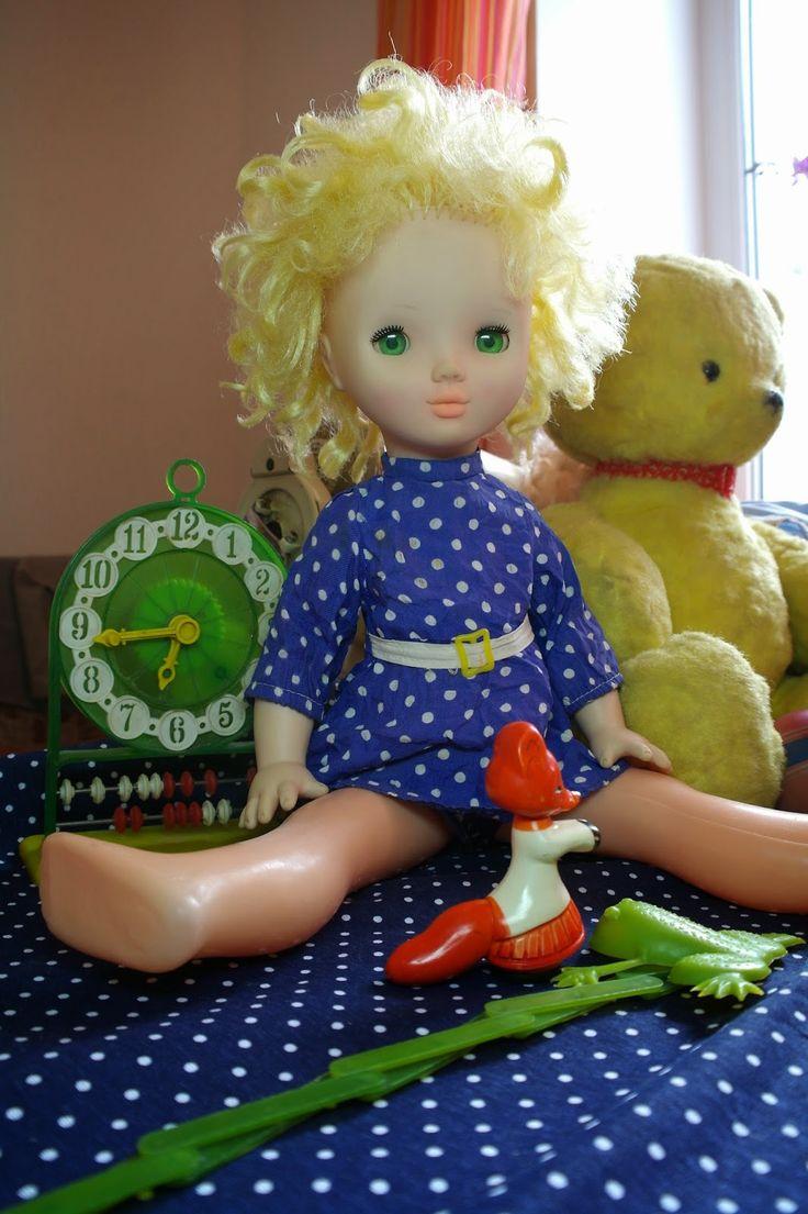 Кукла (1970?). Игрушки СССР - http://samoe-vazhnoe.blogspot.ru/