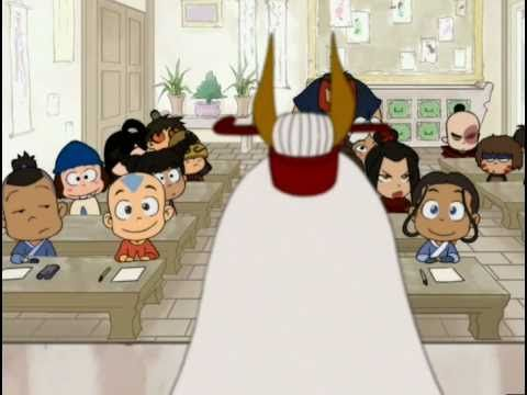 Avatar School Time Shipping; when we were all wondering who Katara would end up with