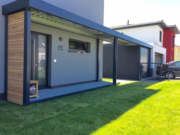die besten 25 moderner carport ideen auf pinterest carport modern carport und garage mit carport. Black Bedroom Furniture Sets. Home Design Ideas