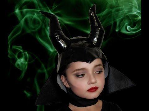 Trucco e costume da strega malefica per bambina - VideoTrucco