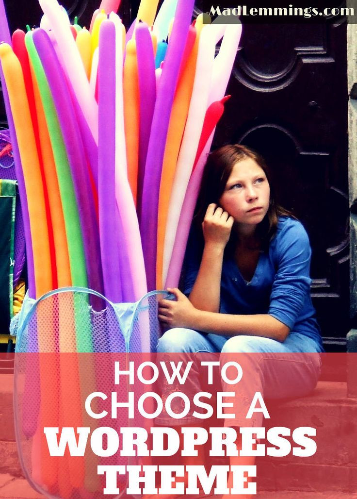 How to Choose a Wordpress Theme for your New Website or Blog