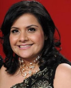 Nina Wadia is hilarious!!! YouTube her in 'Goodness Gracious Me' - so funny your sides ache.
